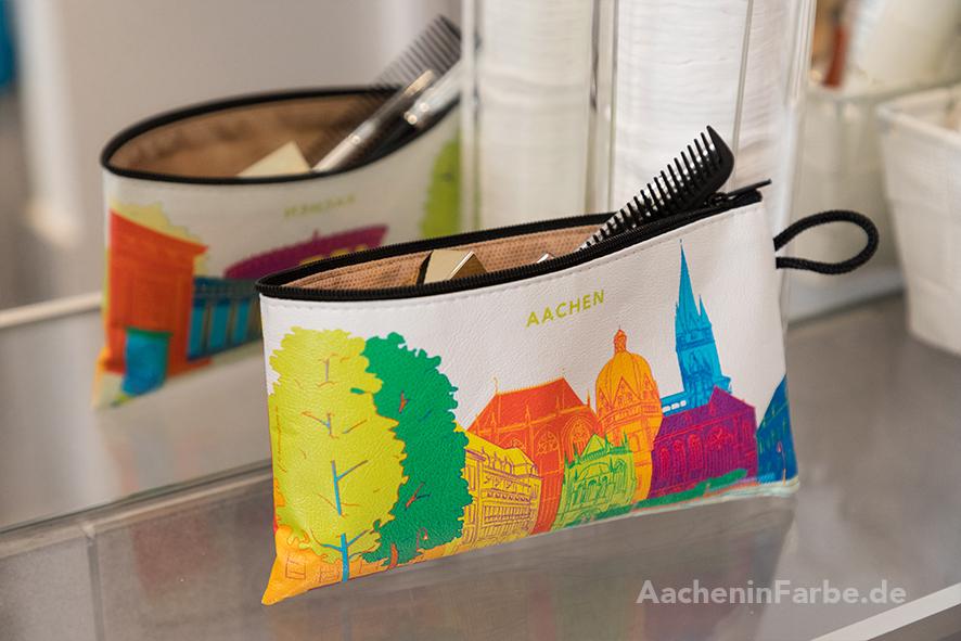"""Mäppchen """"Aachener Dom & Elisenbrunnen"""", bunt"""