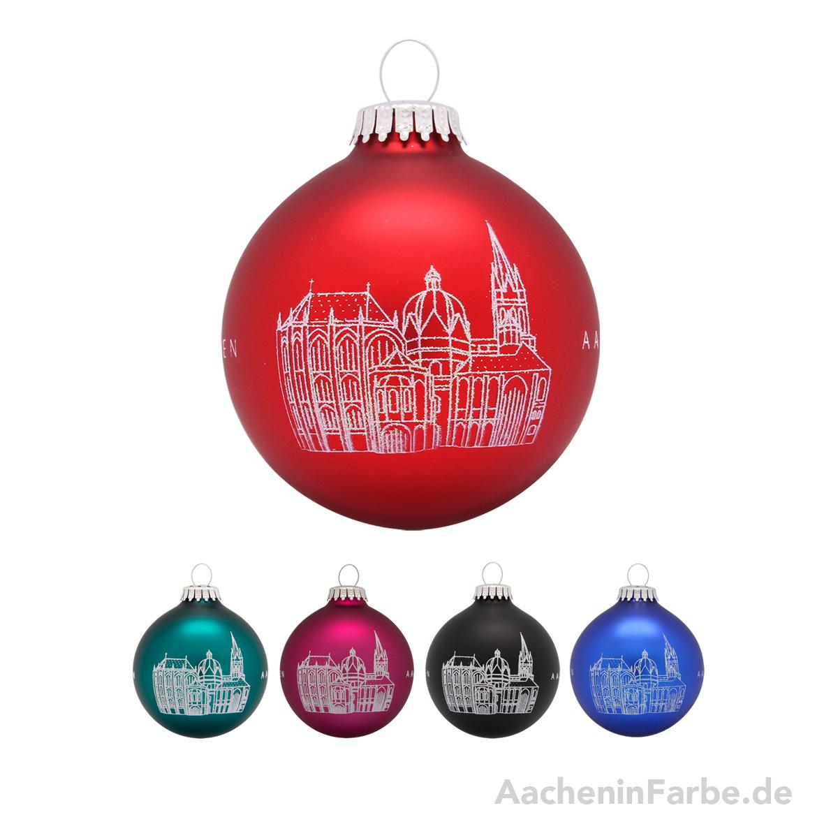 """Christbaumkugel """"Aachener Dom"""""""