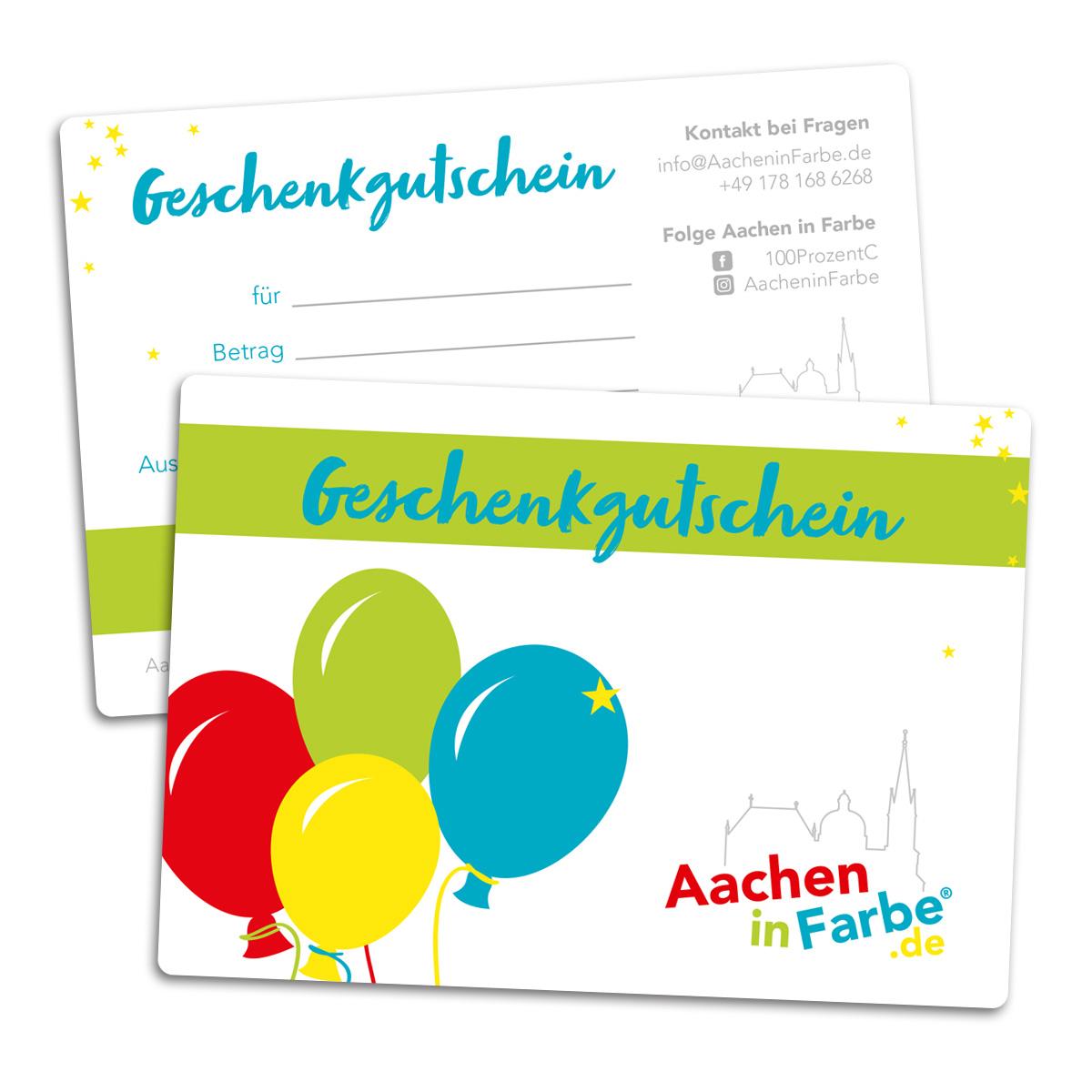 Gutschein für AacheninFarbe.de -  50 €
